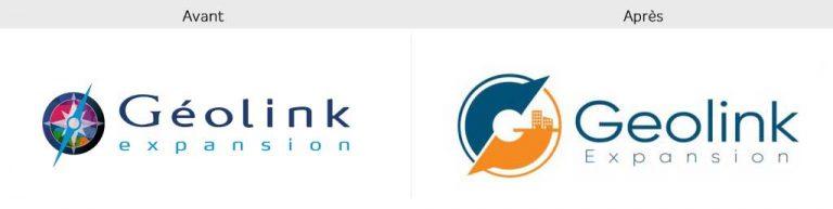 nouveau logo geolink