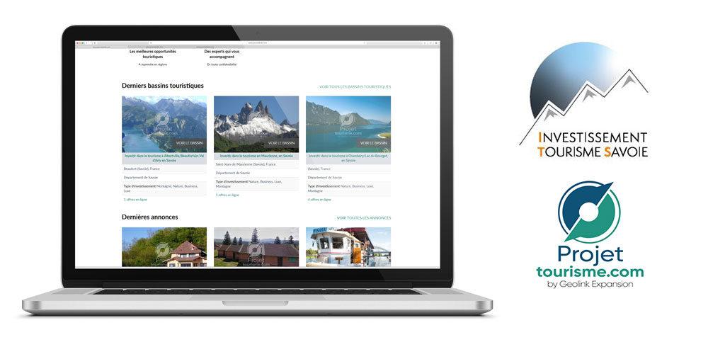 plateforme tourisme Geolink